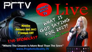 Watch Us Live on Prophetic Reality TV